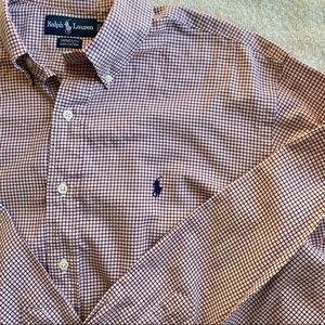 Men's Ralph Lauren Yarmouth Dress Shirt 16